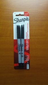 Sharpie Black Felt Tip Pen Fine Point