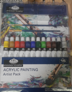 Acrylic Painting Artist Pack
