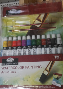 Watercolor Painting Artist Pack